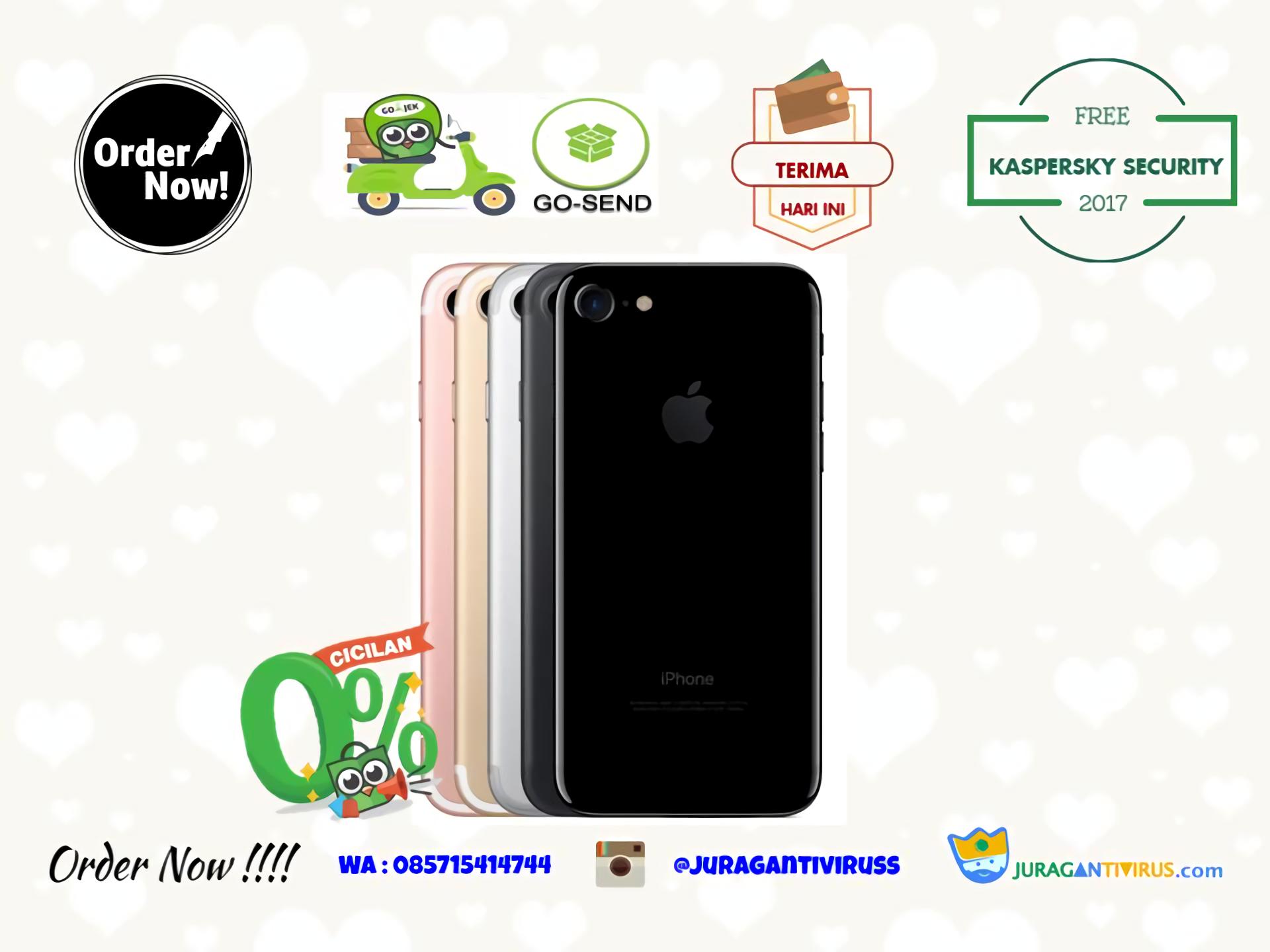 Iphone 7 32 Gb Bnib Gojek Ready Garansi International 1 Tahun 5 32gb Murah Bisa Cicilan 0